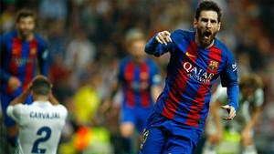 Messi tumbó al Real Madrid