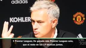 Mourinho, en proceso de desintegración