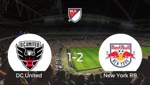 El New York RB se queda con los tres puntos después de vencer 1-2 al DC United