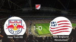 El New York RB vence 1-0 al New England Revolution en el Red Bull Arena