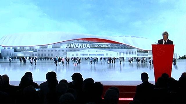 El nuevo estadio del Atlético se llamará Wanda Metropolitano