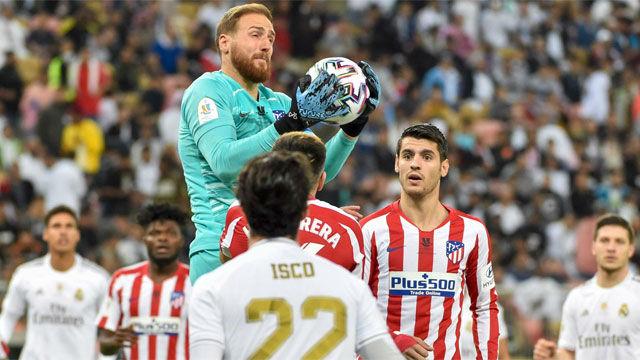Oblak mantuvo con vida al Atlético hasta la tanda de penaltis