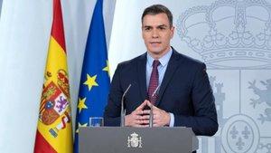 Pedro Sánchez explicó las medidas adoptadas por el Gobierno para el Estado de Alarma