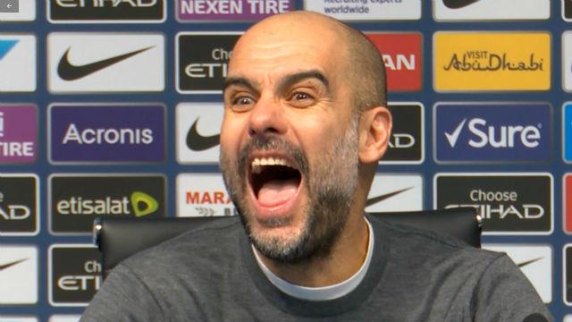 Un periodista se equivoca con los títulos que ganó Guardiola en el Barça y el catalán reacciona así