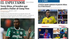 La prensa colombiana destacó el fichaje de Yerry Mina