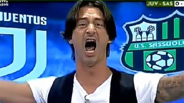Un presentador de televisión enloquece con el primer gol de Cristiano Ronaldo