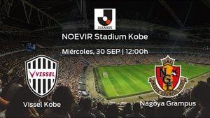 Previa del encuentro: el Vissel Kobe recibe al Nagoya Grampus en la vigésimo novena jornada