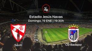Previa del partido: el Sevilla At. recibe al Badajoz en la vigésimo primera jornada