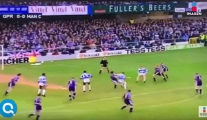 El QPR y el Manchester City protagonizaron 20 segundos que se han hecho virales