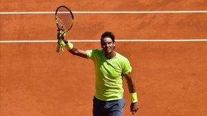 Rafa Nadal, el gran dominador en Roland Garros