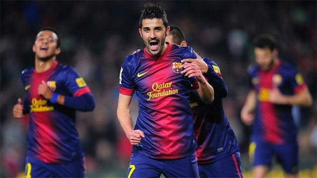 Recuerda los 10 mejores goles de David Villa con el Barça