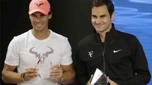 Roger Federer quiere enfrentarse a Nadal en tierra