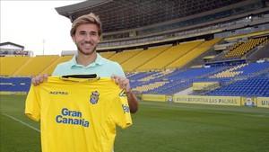 Samper aún no ha poddo debutar con Las Palmas