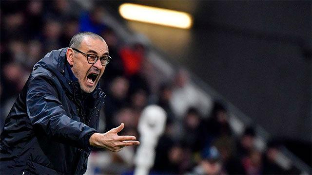 Sarri: No perdemos por mi relación con los jugadores
