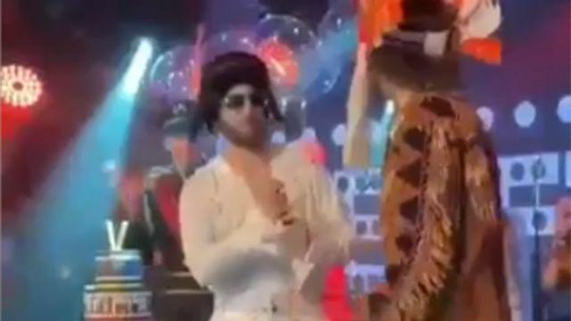 Show de Higuaín: Así lo dio absolutamente todo en el cumpleaños de David Luiz disfrazado de Elvis