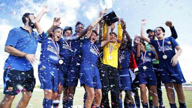 El torneo Barça Academy Las Américas Cup, en marcha
