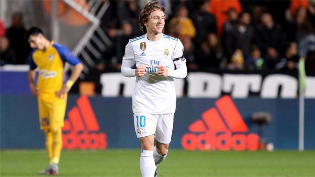 Una temporada redonda para Modric