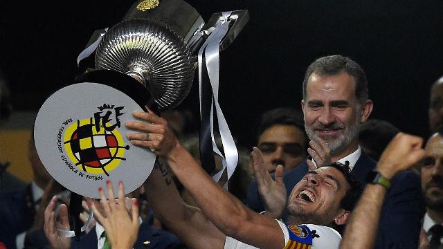 El Valencia gana la Copa del Rey