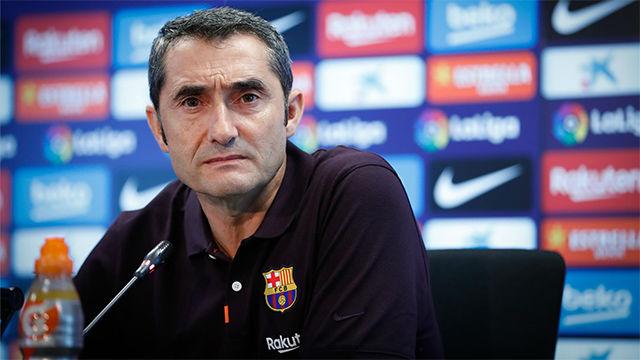 Valverde: Aquí las crisis se montan rápido