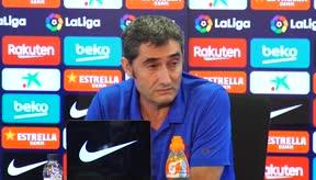 A Valverde le gustaría que el mercado de fichajes se cerrase cuando comenzase LaLiga