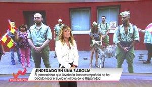 Viva la Vida lleva una cabra a plató y recibe multitud de críticas