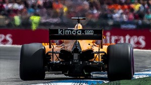 Alonso abandonó en la última vuelta