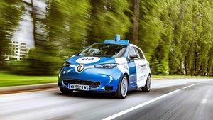 Renault Zoe Cab eléctrico.
