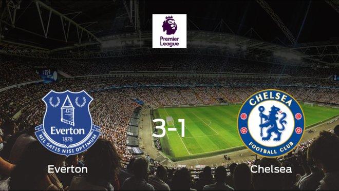 El Everton se queda con los tres puntos frente al Chelsea (3-1)