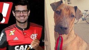 Un aficionado del Flamengo vende su entrada a la seminifinal para salvar a su perro