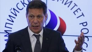 Alexandr Zhúkov deja la presidencia del Comité Olímpico Ruso