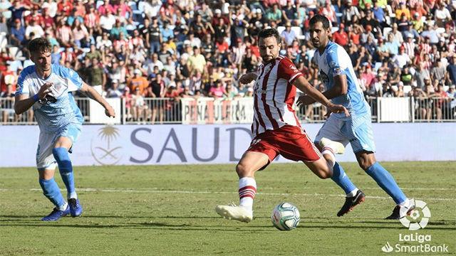 El Almería y el Lugo suman un punto tras empatar a cero