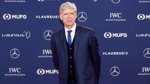 Arsène Wenger, en los Premios Laureus
