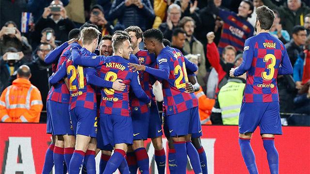 Así fue la goleada made in Messi del Barça al Celta