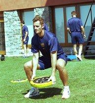 El azulgrana se tiñó de rosa cuando Iñaki Urdangarín, el dorsal 7 del Barça de balonmano, pasó a formar parte de la familia real