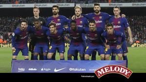 El Barça derrotó al Leganés en el Camp Nou