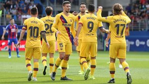 El Barça ha ganado 0-3 este sábado al Eibar en Ipurua