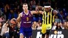 El Barça se vio superado por el Fenerbahçe en la primera vuelta en el Palau