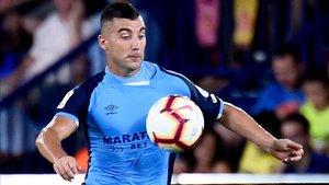 Borja García, sancionado para los próximos dos partidos