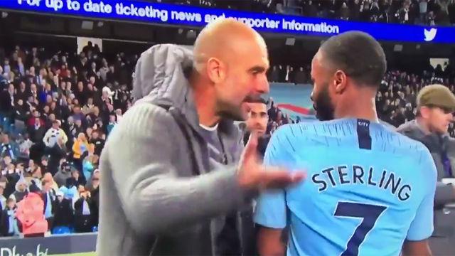 La bronca de Pep a Sterling por humillar al rival