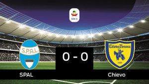 El Chievo logra un empate a cero frente al SPAL