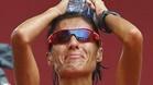 Con esta cara se quedó Alessandra Aguilar tras acabar 17ª en maratón
