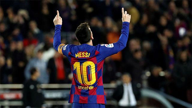 Y con este hat-trick Messi ya le supera a Cristiano en número: 35 vs 34
