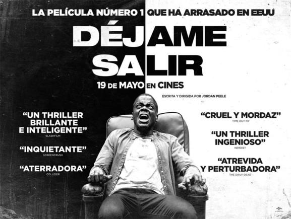 ¡Consigue una entrada doble para el thriller 'Déjame salir' y una sudadera de la película!