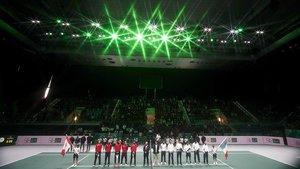 La Copa Davis continúa disputándose en Madrid