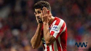 El delantero del Atlético, lesionado