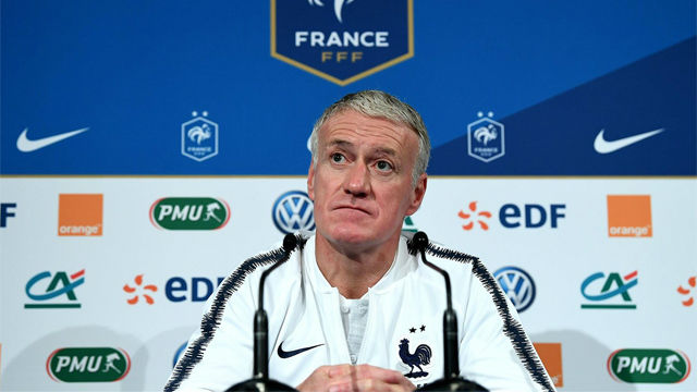 Deschamps comparó a Ndombèlé con Pogba