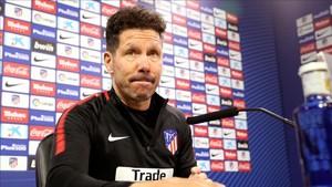 Diego Pablo Simeone ha analizado esta tarde el derbi con el Real Madrid de este sábado