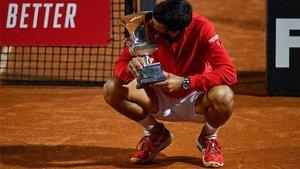 Djokovic ganó su quinto título en Roma