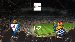Eibar fall to Real with a 1-2 at Ipurua Municipal Stadium