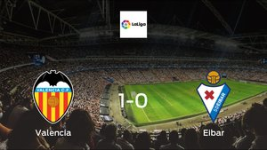 Eibar suffers defeat against Valencia with a 1-0 at Mestalla